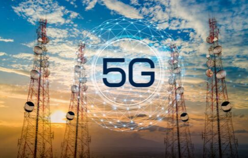 5G technology towers