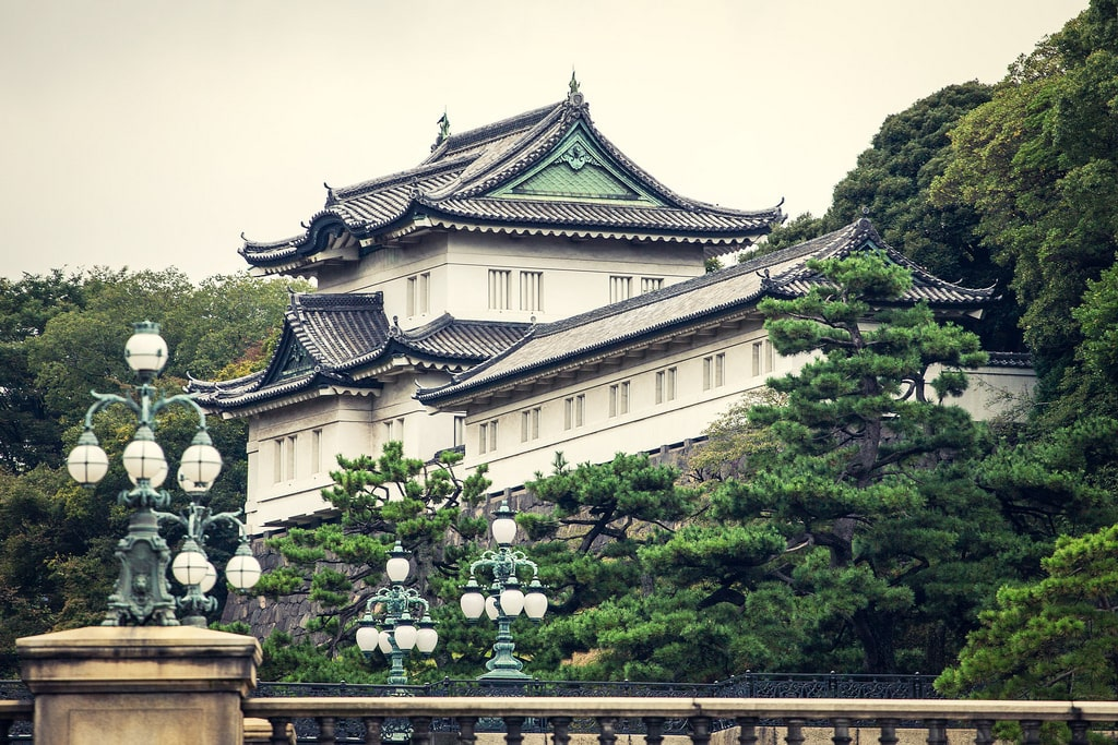 Imperial Palace in Japan