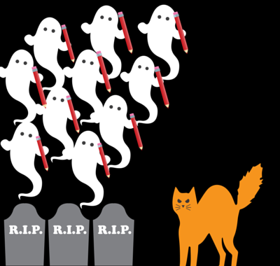 5 Spooky Signs Your Content Team Needs Ghostwriters [SlideShare]