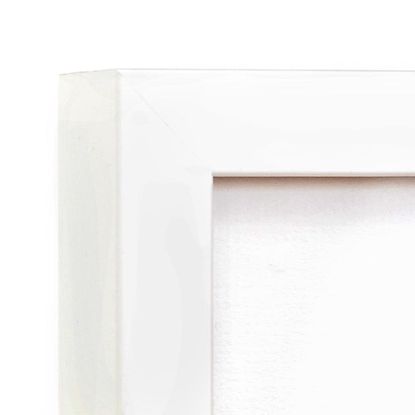 Irvine Slim Corner –16x20 white gallery frame