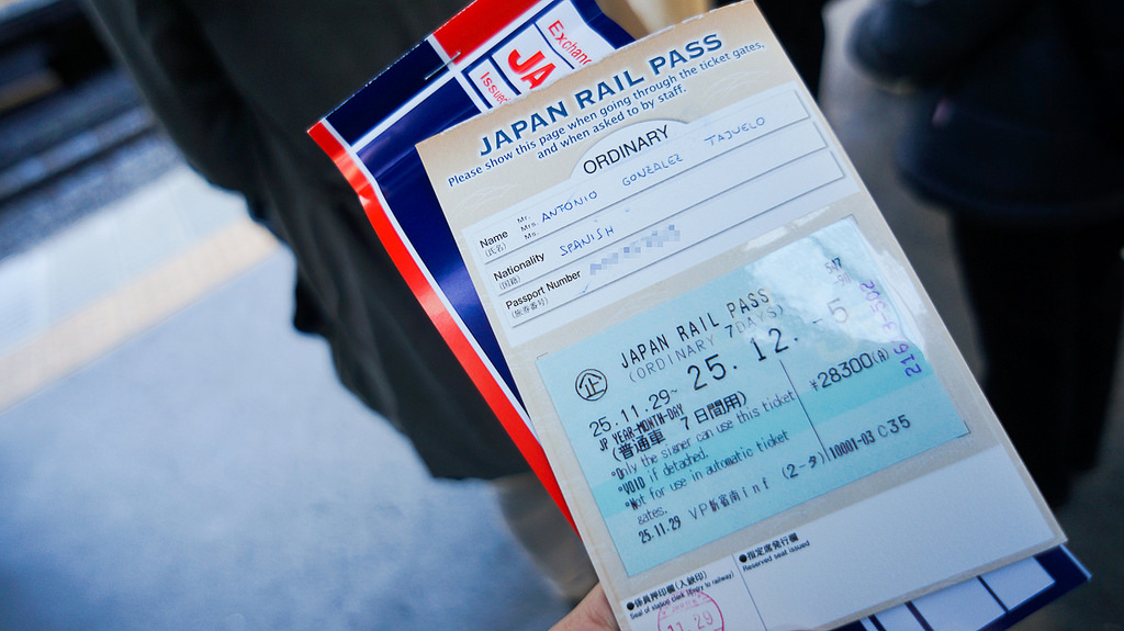 rail pass japan ticket