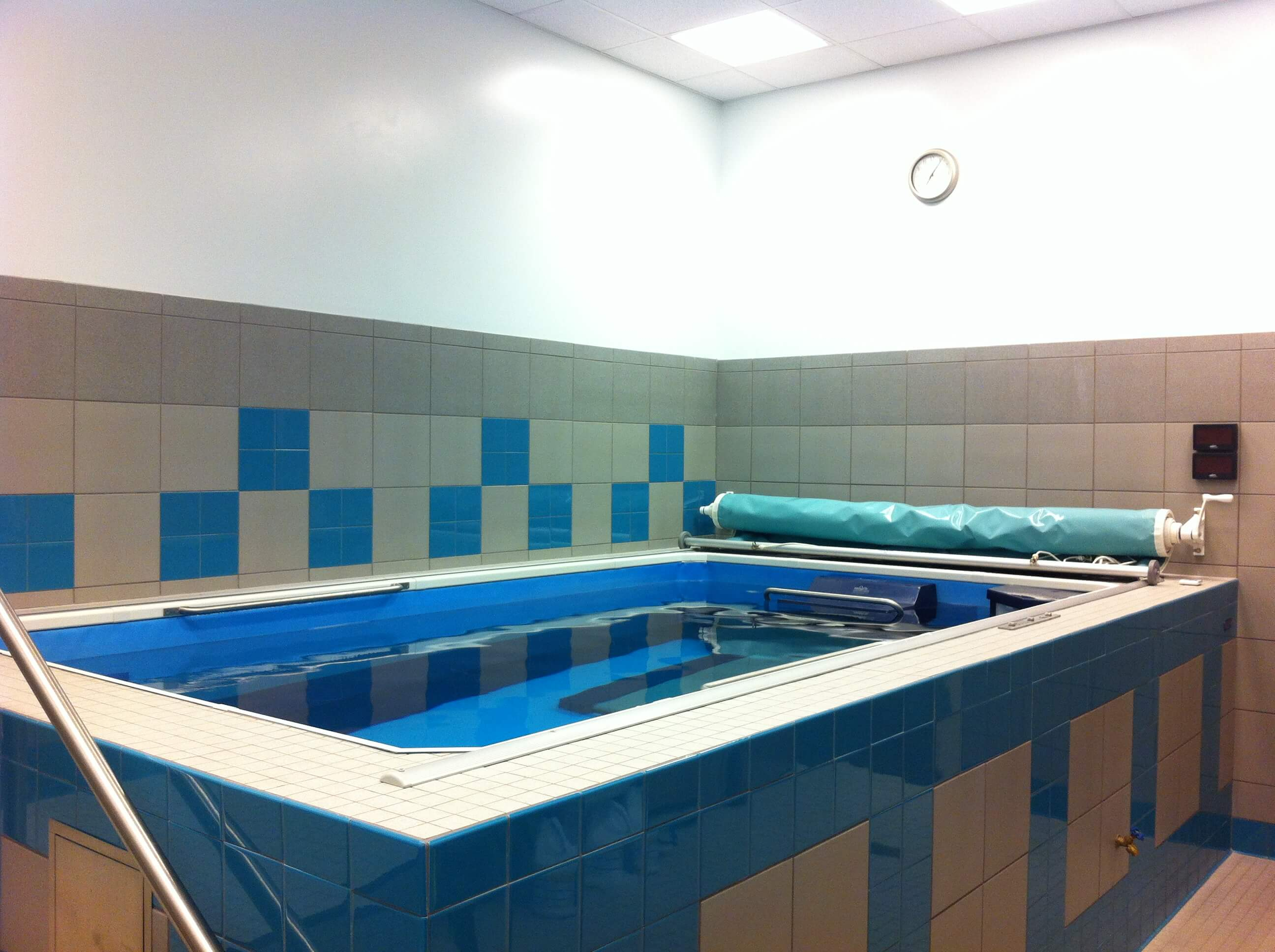 Physical Therapy session in the Endless Pool at Kinetic Physical Therapy