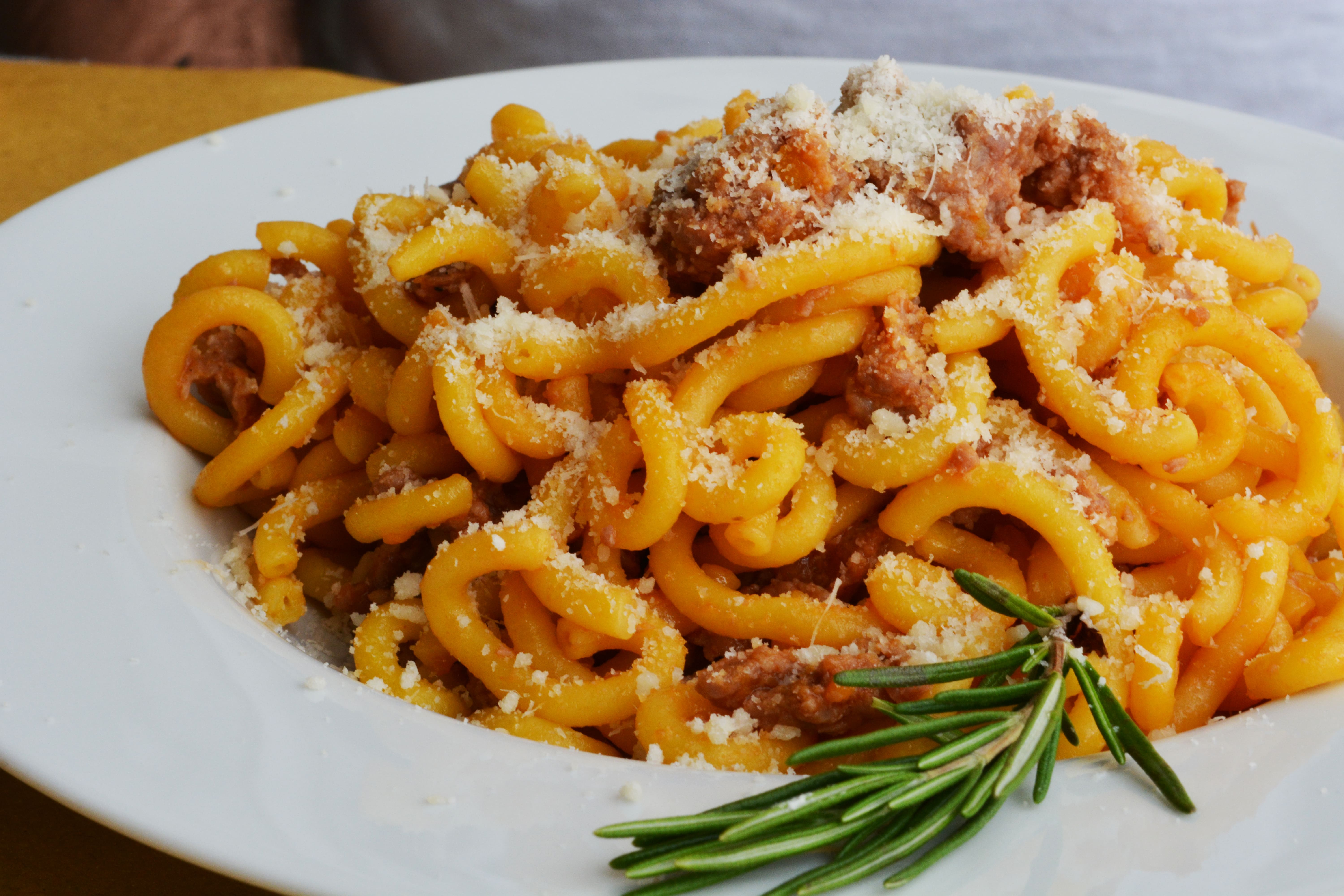 Bologna is a great place to visit in Italy for pasta, especially at Trattoria Anna Maria