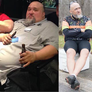 Down 300 Pounds, Marcus' Weight Loss Transformation