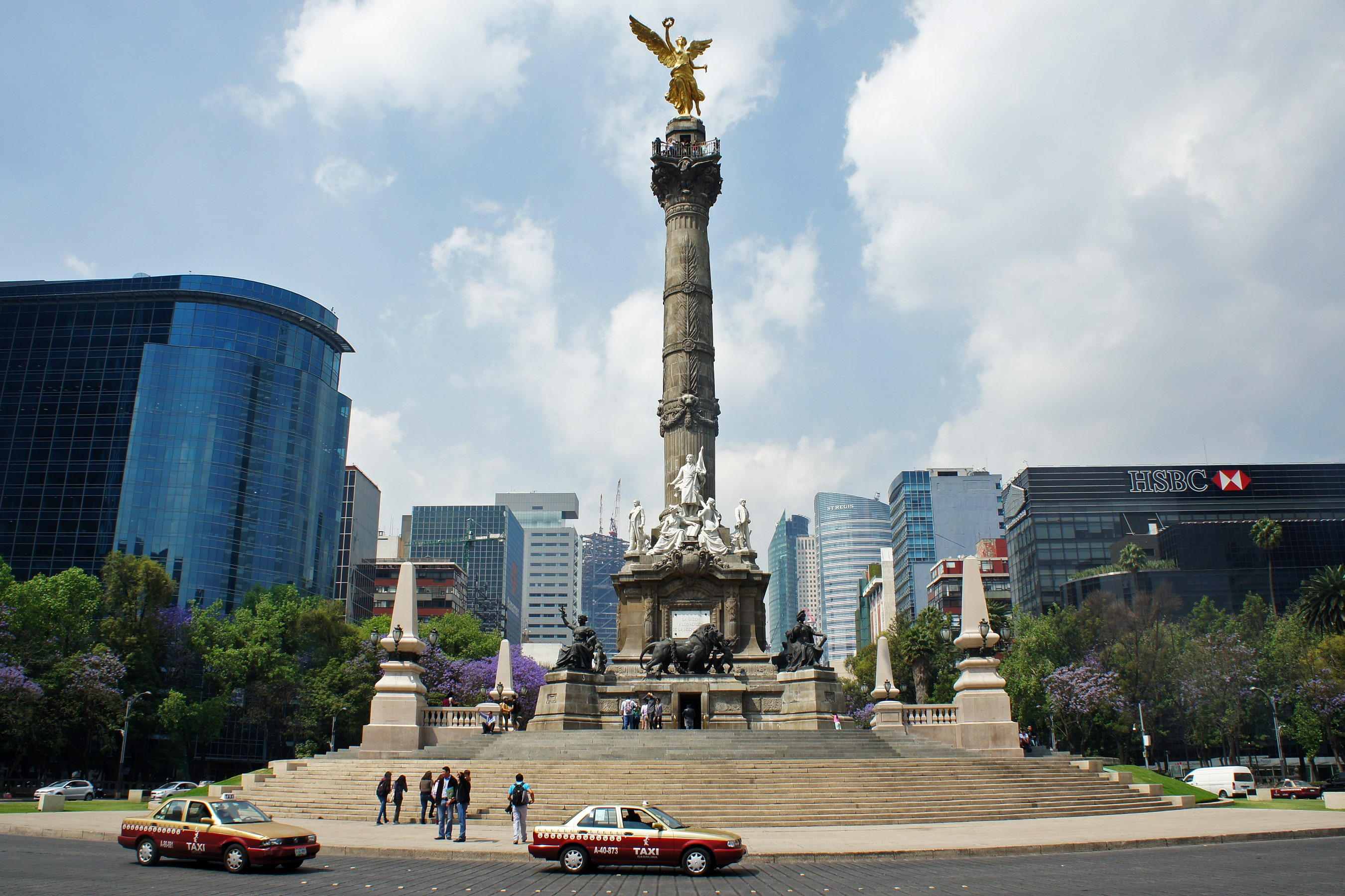 El Angel is one of the best Mexico City landmarks