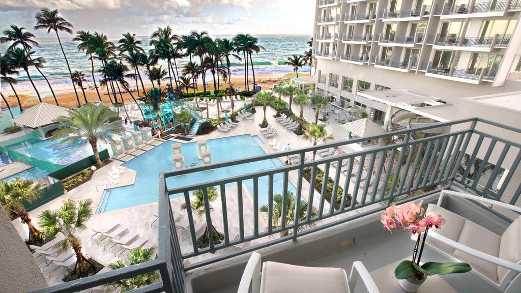 San Juan Marriott Resort and Stellaris Casino is a gorgeous Puerto Rico family resort
