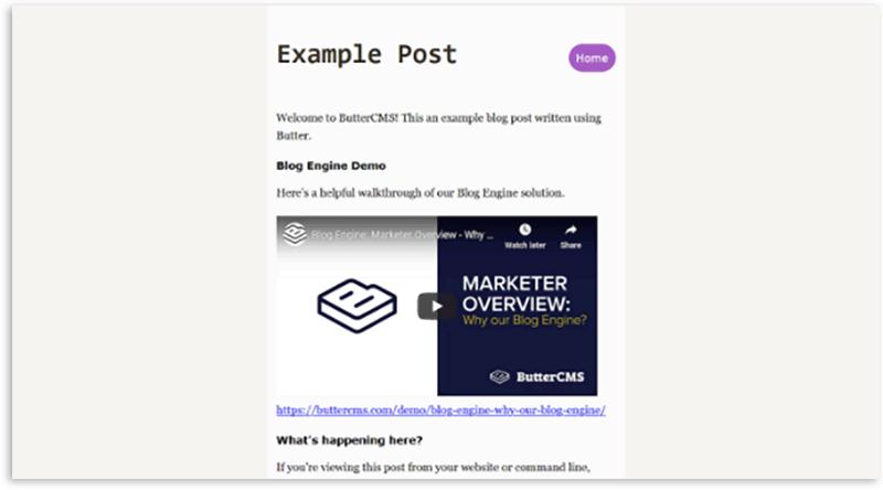 Next.js Blog with ButterCMS - 3