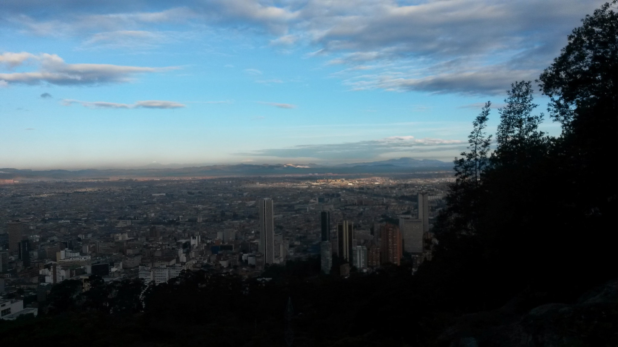 view from Monserrate what to do in Bogota colombia