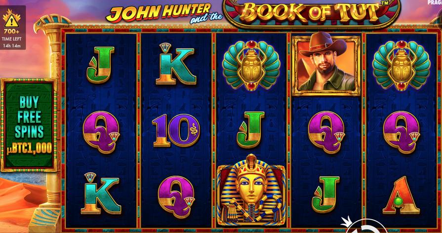 John Hunter and the Book of Tut video slot
