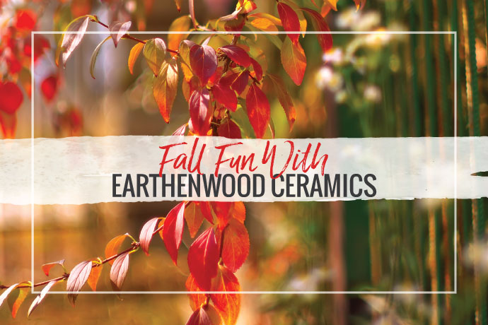 One of my favorite artisan bead companies is Earthenwood Studio , the brainchild of Melanie Brooks. Fall is the perfect time of year to draw