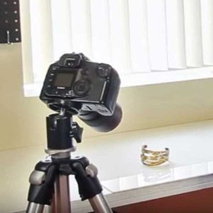 Photographing with a natural lighting setup