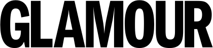 Glamour black logo