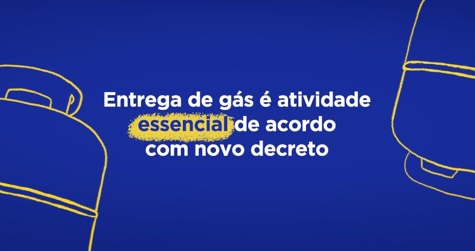 Entrega de gás é atividade essencial de acordo com novo decreto