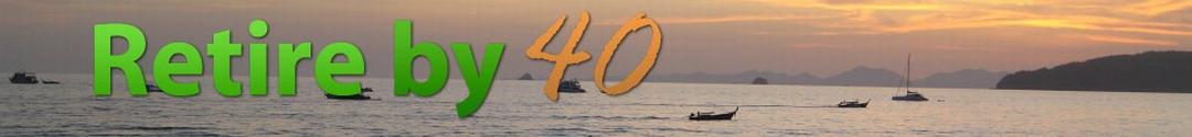Retire by 40 logo