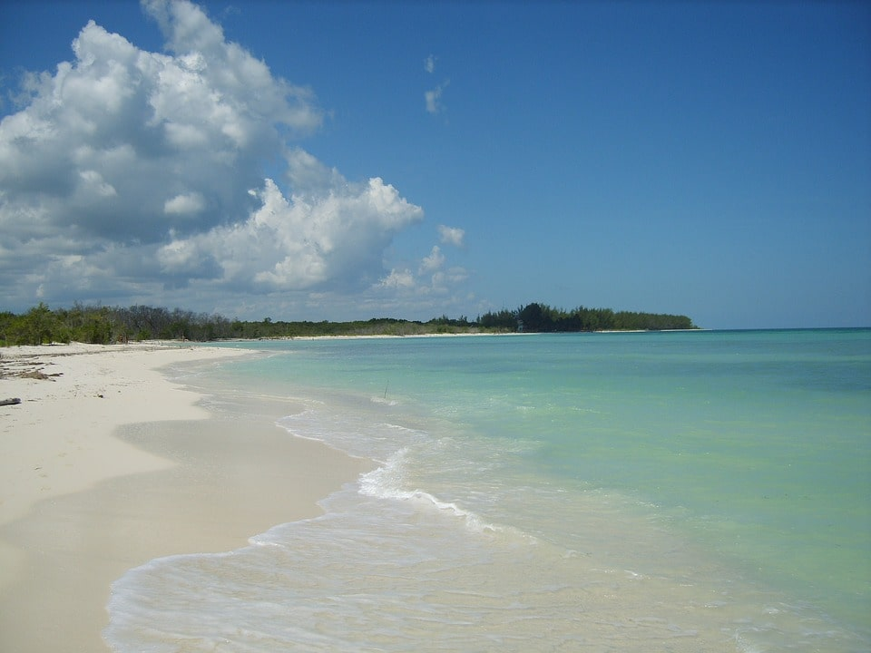 Playa Paraiso is one of the best Cuba beaches