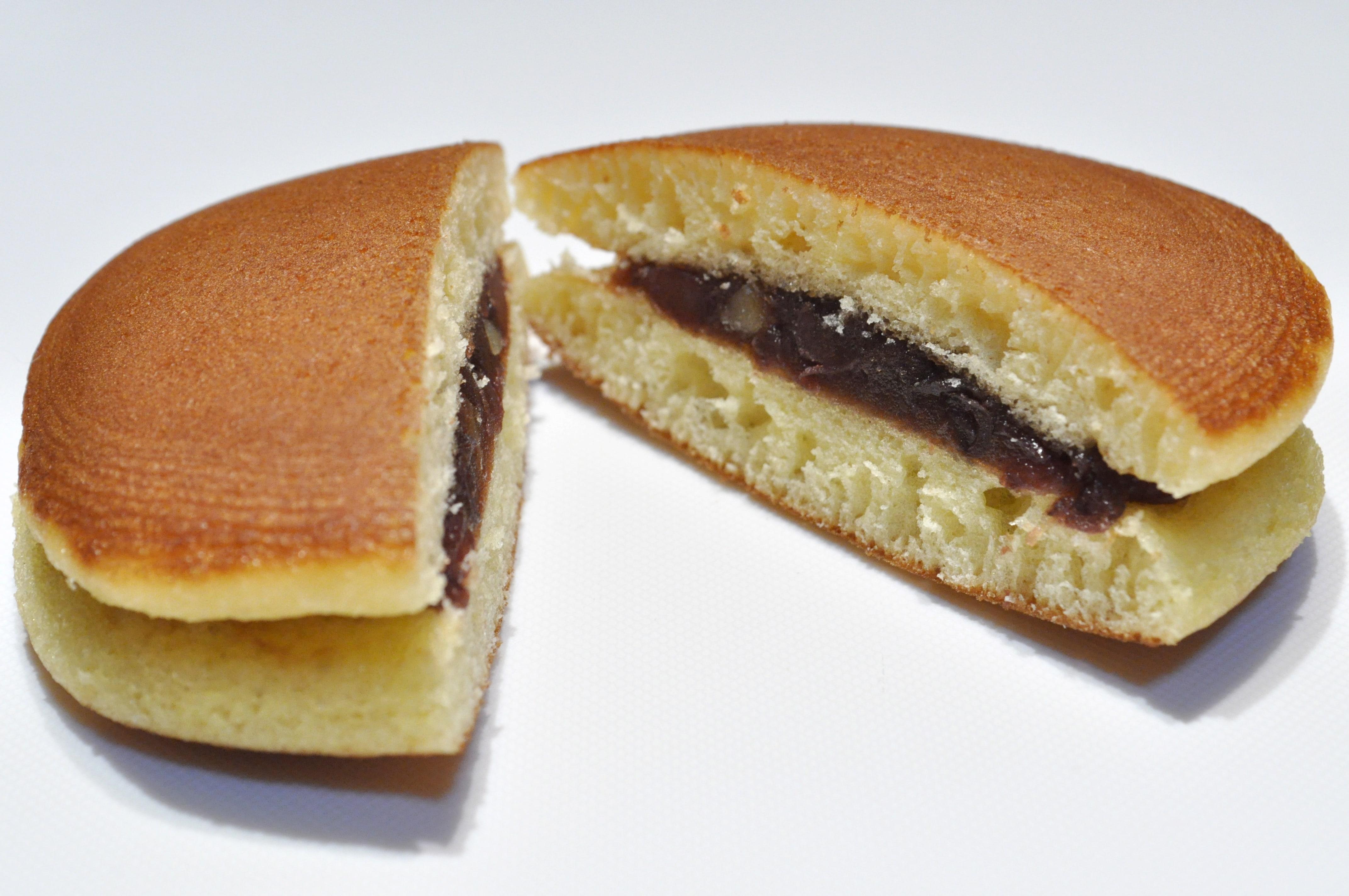 Dorayaki pancake treats in Japan