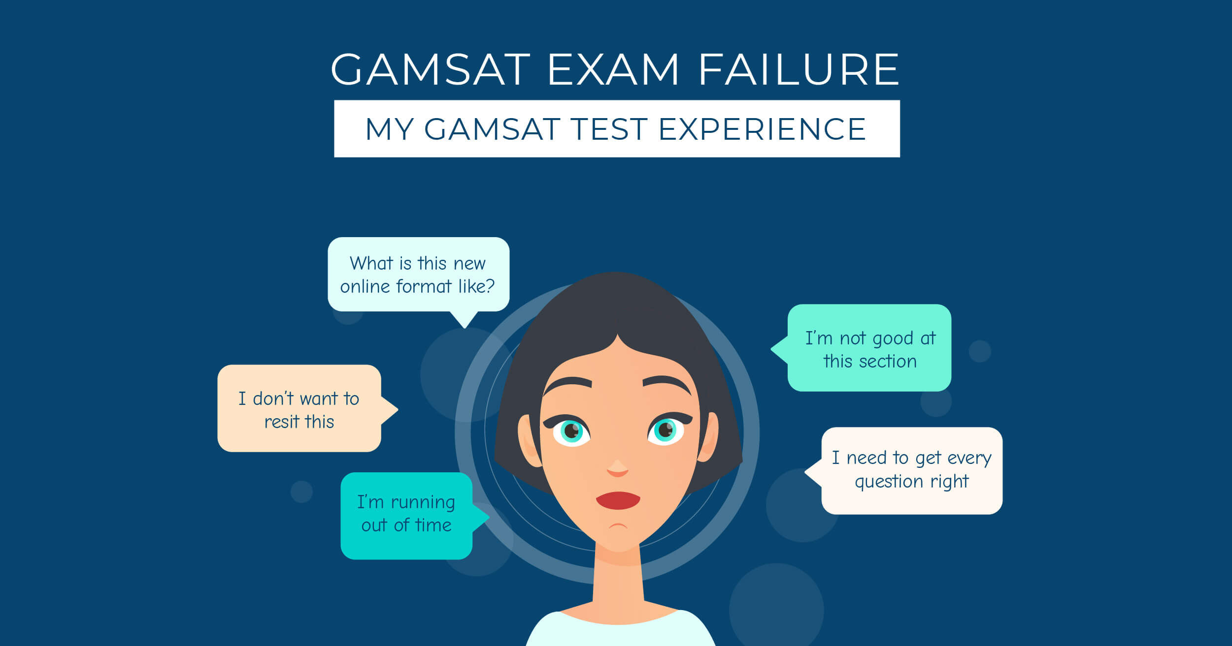 Failing at GAMSAT -  My GAMSAT Exam Experience featured image