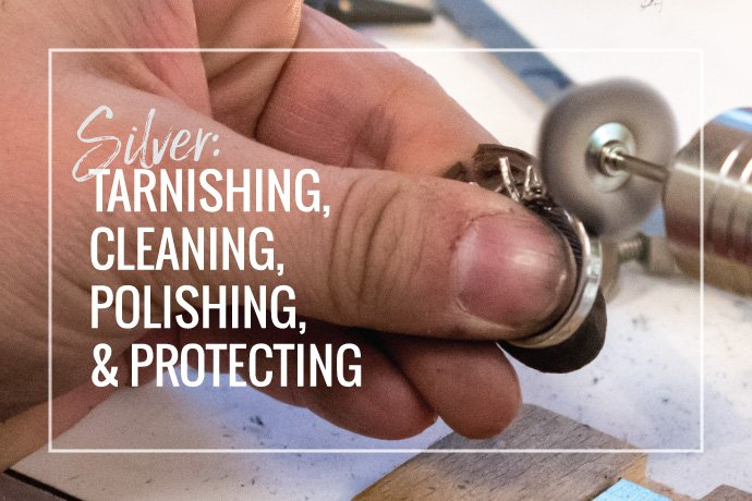 Learn how to protect and polish your sterling silver to keep it shiny. Sterling silver tarnish is natural, but you can keep your jewelry looking great.