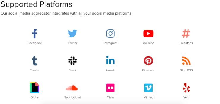 Juicer supported platforms