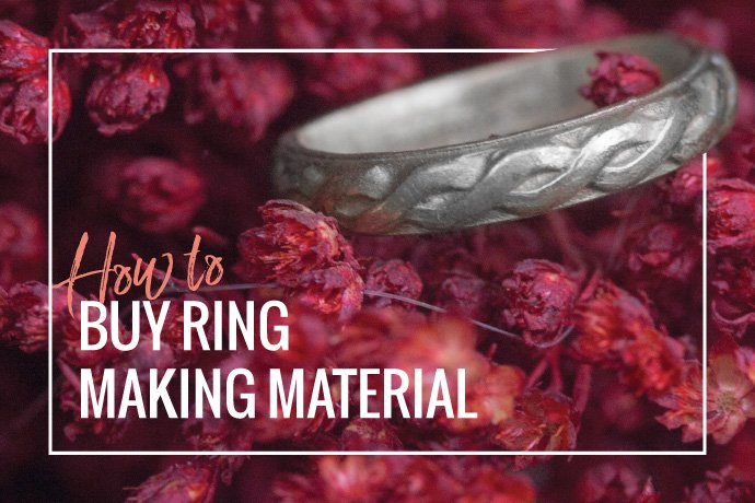 Learn how to determine the correct amount of material you need for a jewelry ring based on the desired finger size and material you choose.