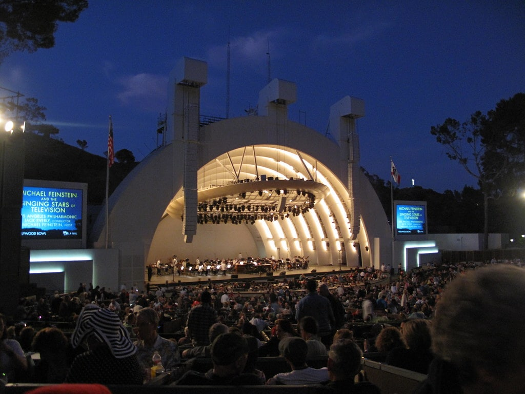 The Hollywood Bowl is a fun place to visit in LA