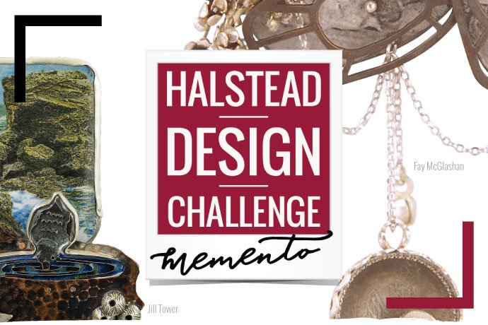 Learn about the Halstead Design Challenge: Memento, a fundraiser and jewelry exhibition produced to benefit the Society of North American Goldsmiths.