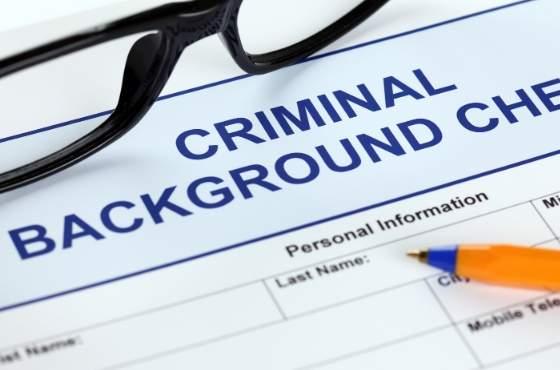 Criminal Background Check Form for CN...