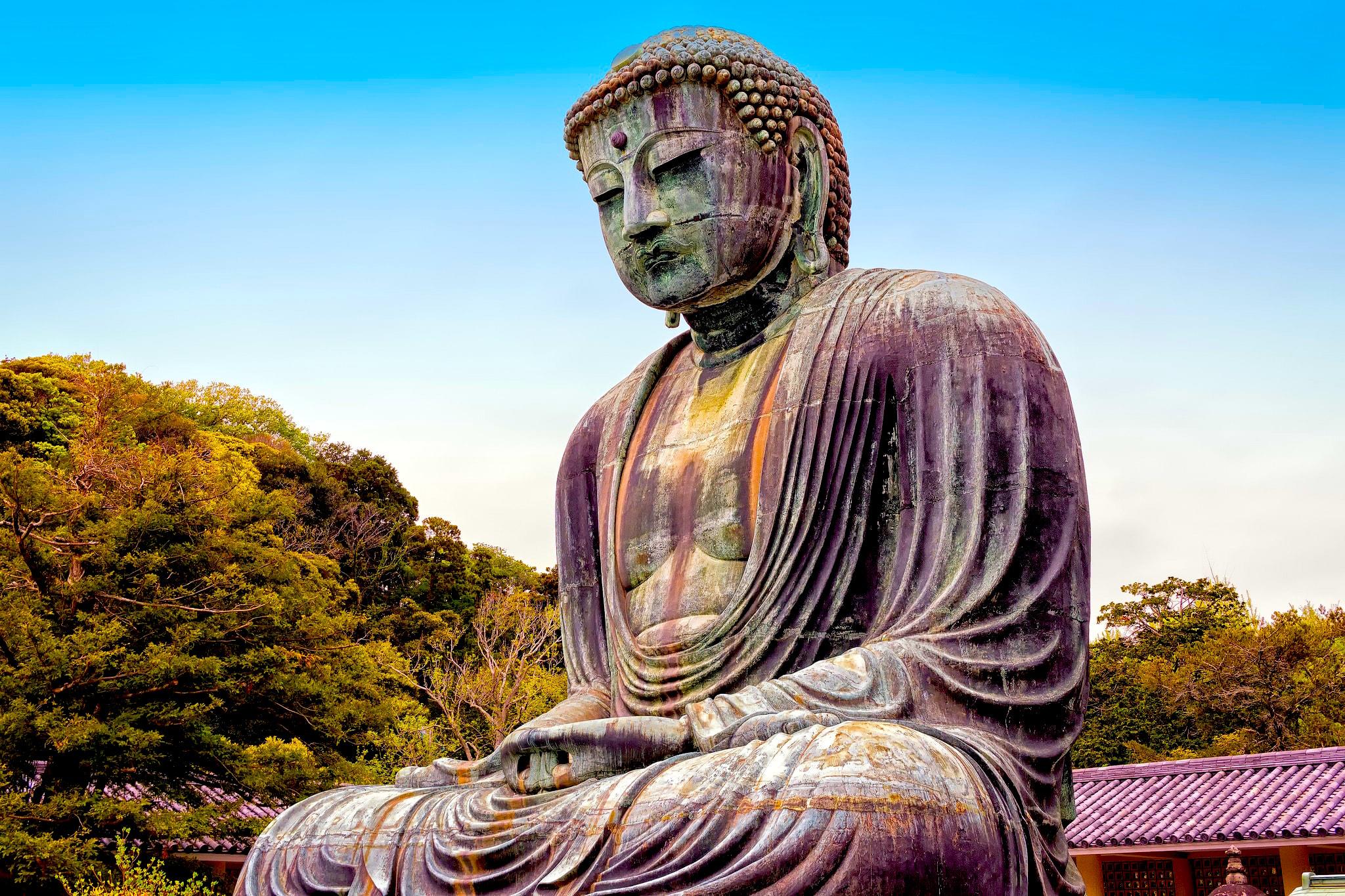 Kamakura Buddhlist Temple Japan