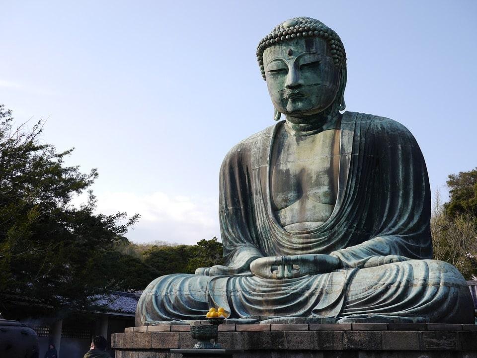 Buddha Kotoku-in shrine in Japan