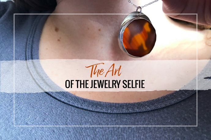 Selfies are a fun way to show off your jewelry! But they should still look professional. Get tips to take an amazing jewelry selfie.
