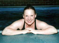 Tish Spencer uses her Endless Pool for aquatic therapy for her lupus
