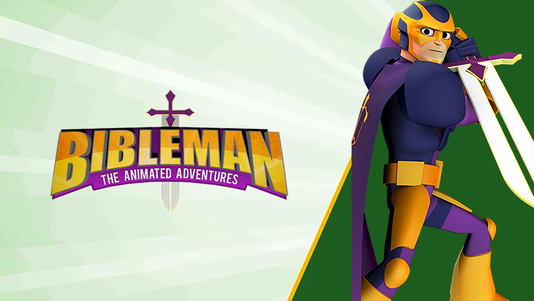 Stream Bibleman The Animated Adventures on JellyTelly
