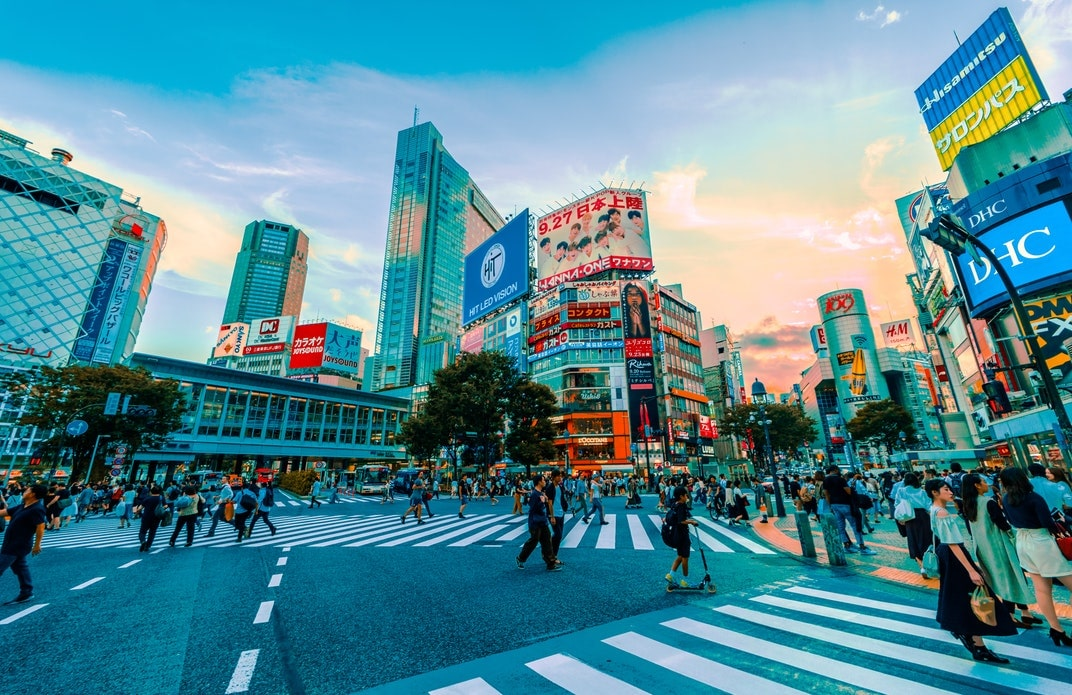 Something is always happening in Shibuya, one of the best places to stay in Japan