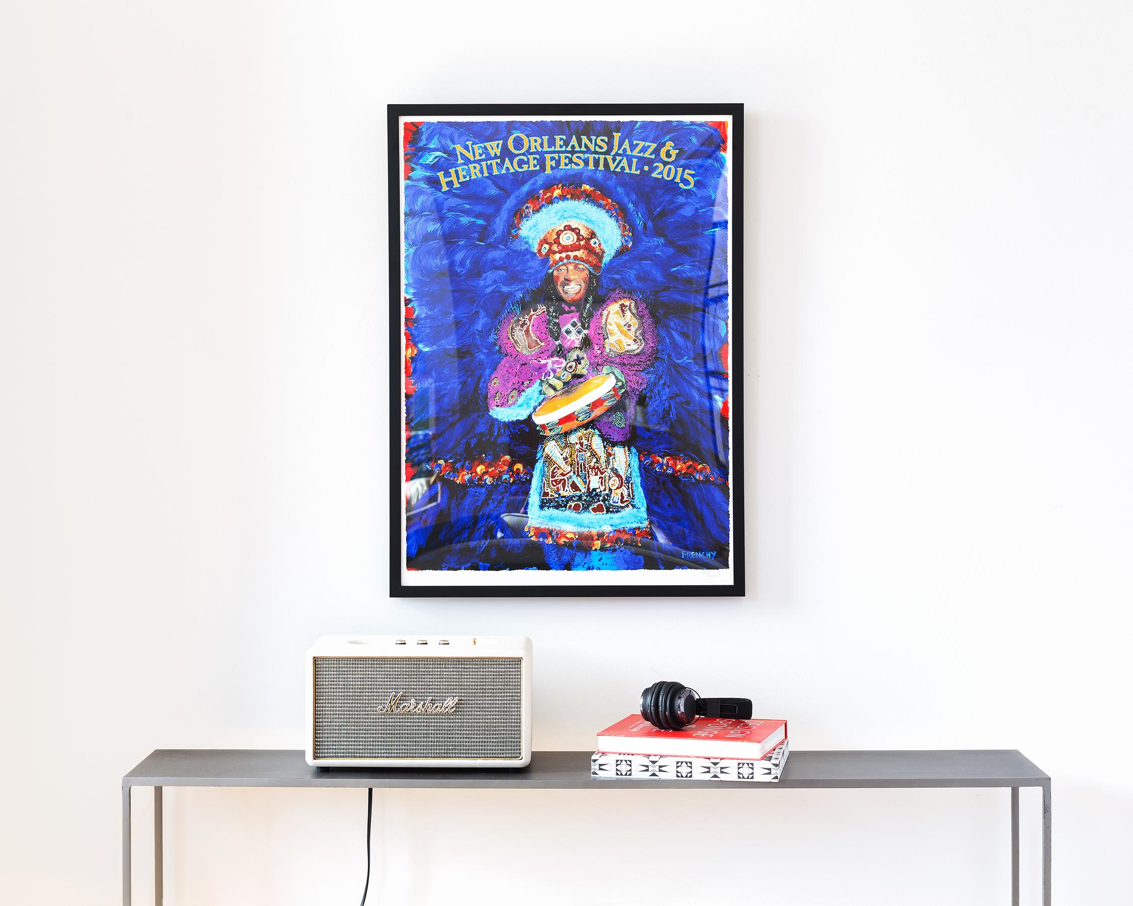 24x36 concert poster framed