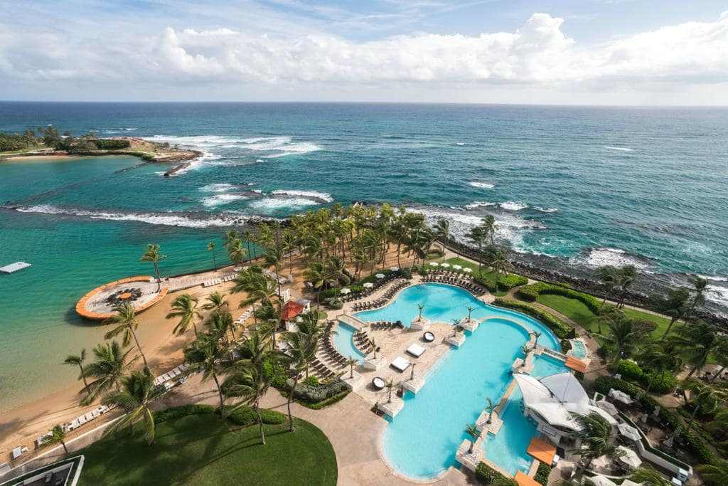 The Caribe Hilton is an amazing Puerto Rico family resort