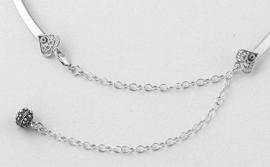 Neck collar jewelry by Erica Stice