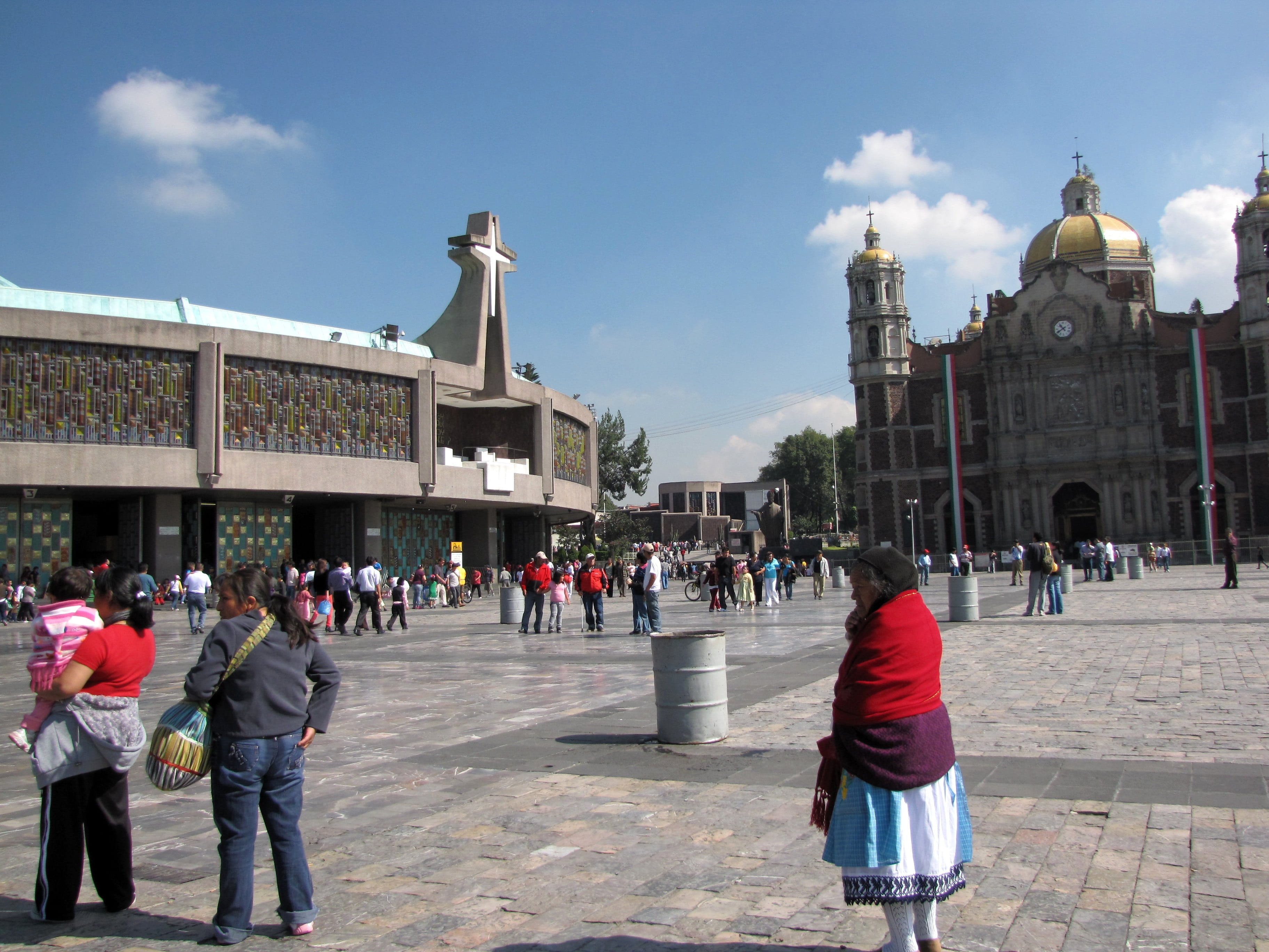Basilica of Our Lady of Guadalupe is one of the best Mexico City landmarks