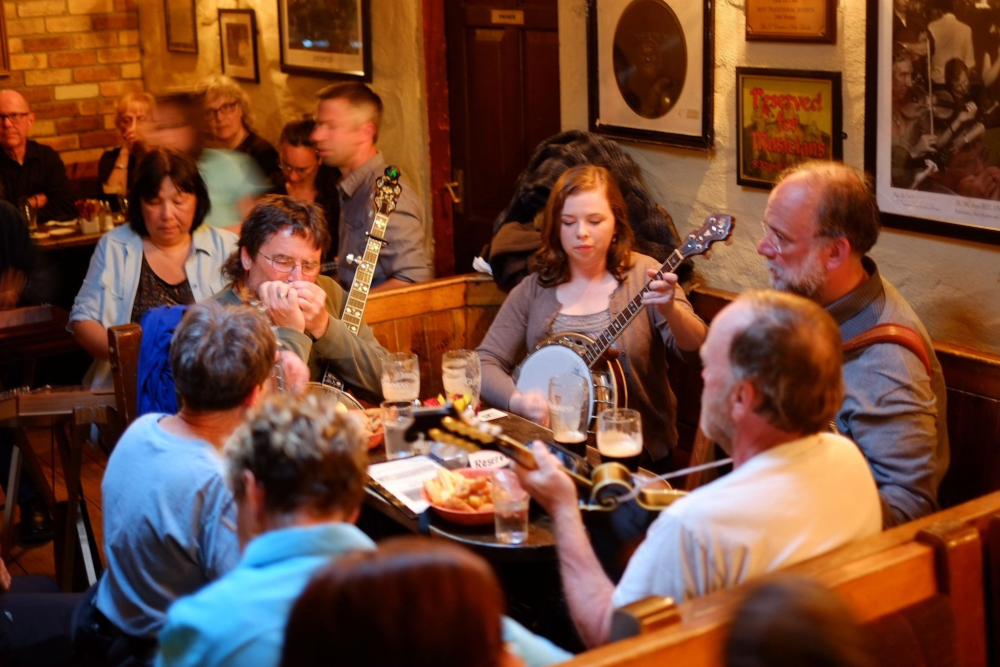 Doolin is a great place to visit in Ireland if you want to experience traditional Irish music