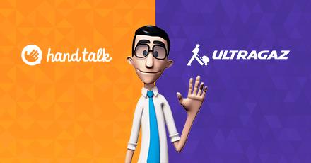 Em parceria com a HandTalk, Ultragaz oferece tradutor de libras no site