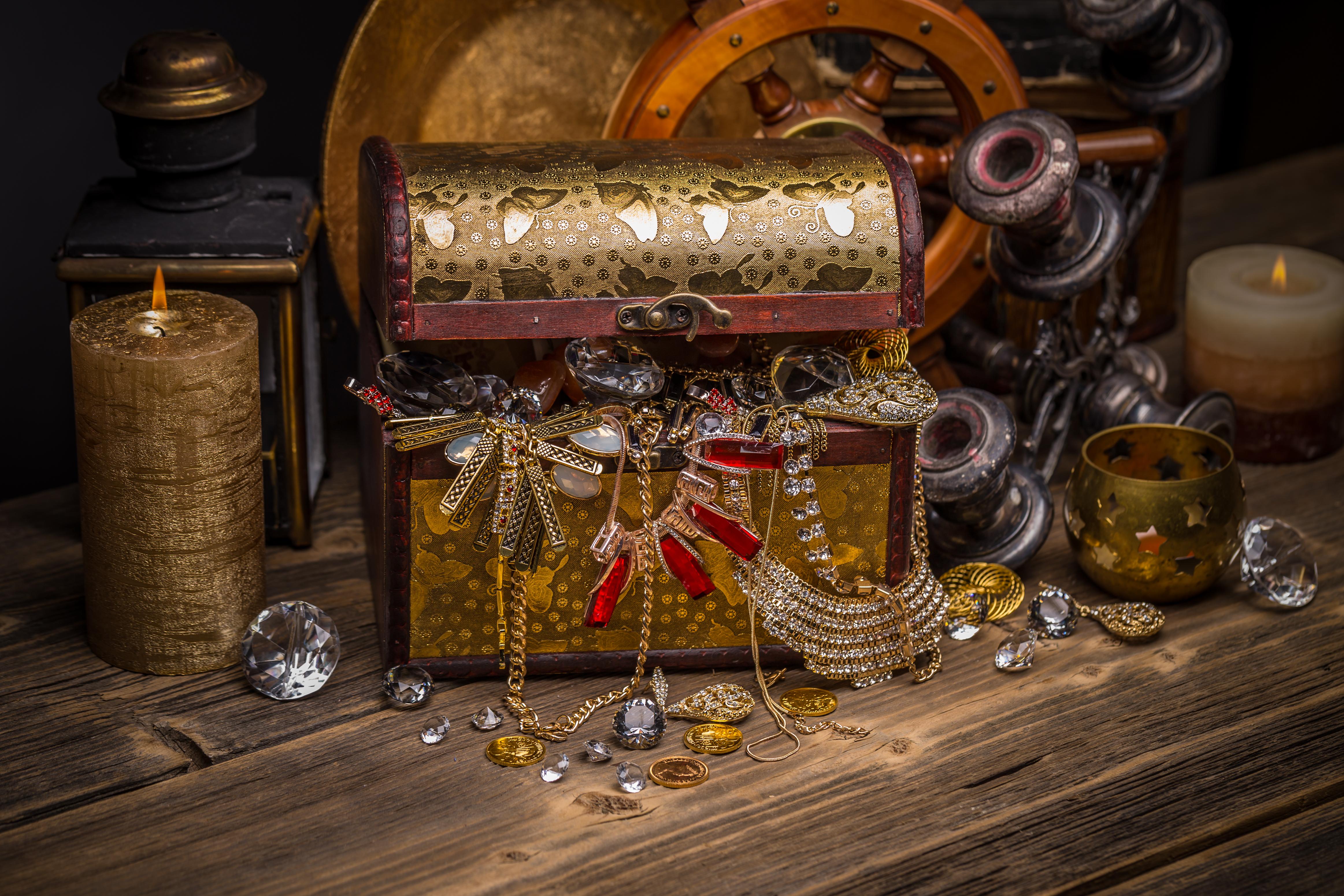 Jewelry Treasure Chest