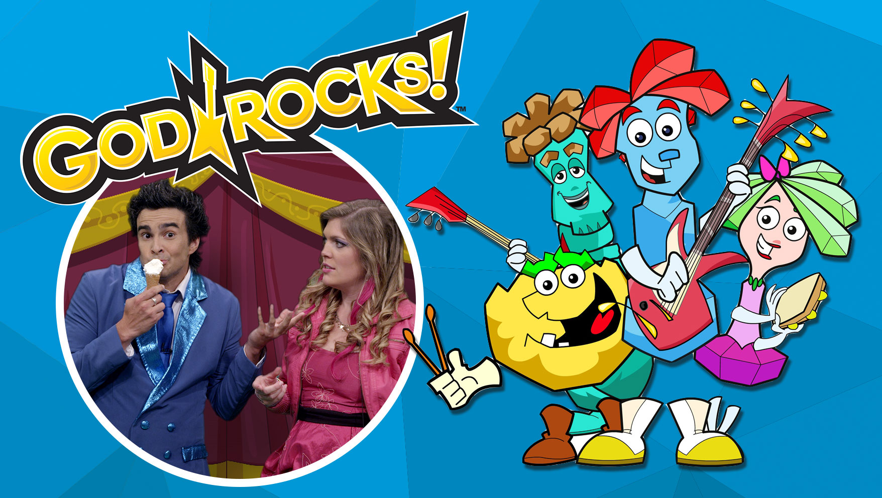 Introducing God Rocks! Animated Series and Parable Playhouse
