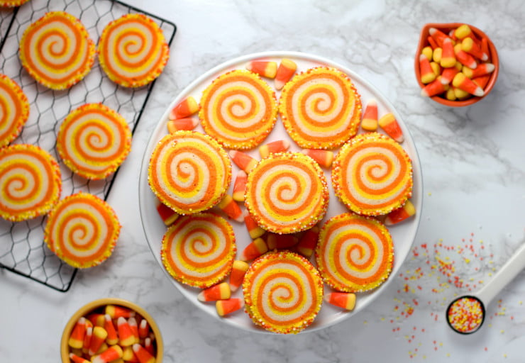 candy corn cookies - user generated content