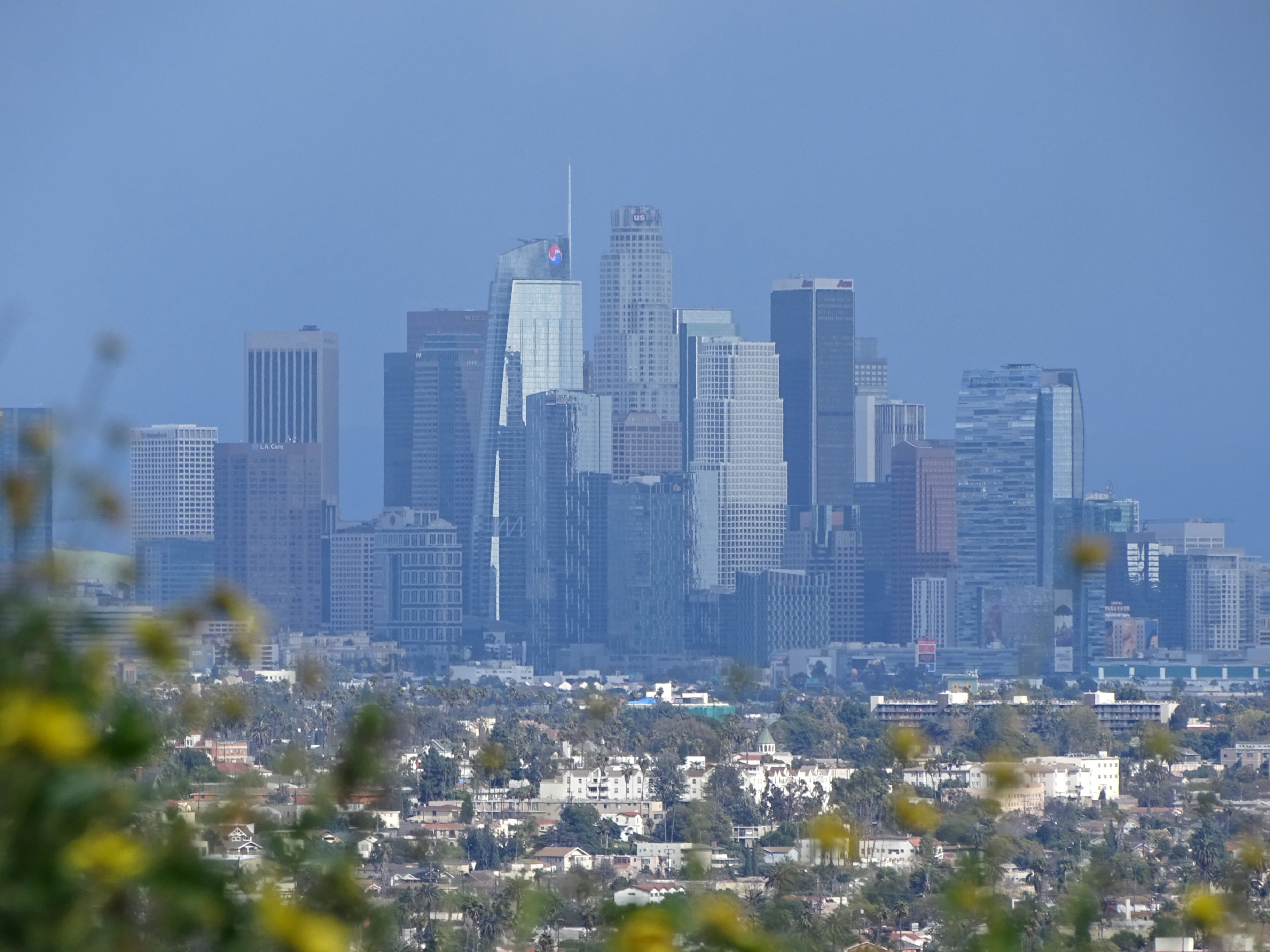 The Baldwin Hills Scenic Overlook is one of the best places to visit in LA