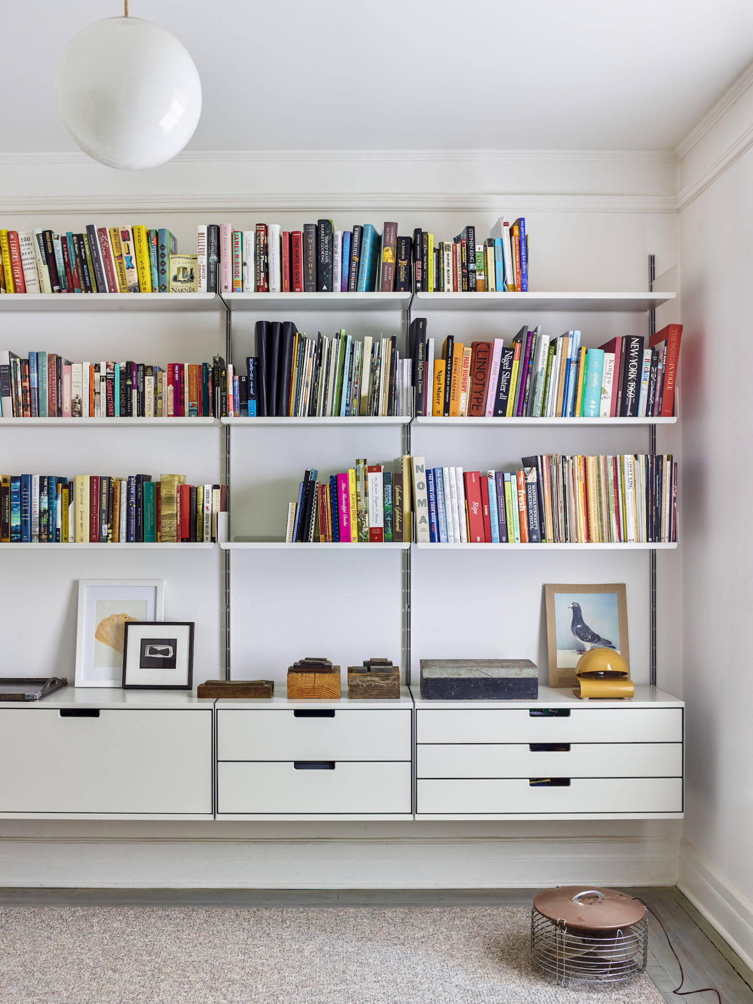 10 Storage Ideas to Steal from an Artfully Organized Apartment in New York City, Brooklyn, NY