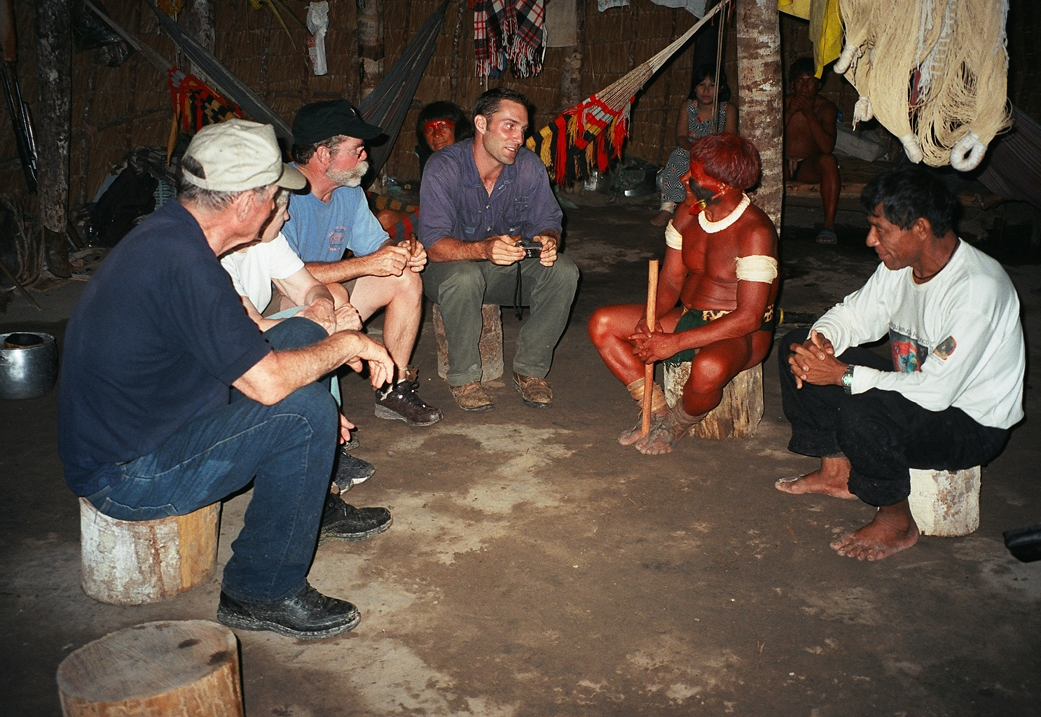 Visiting with an indigenous tribe in ...