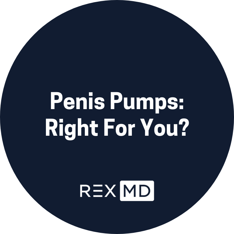 Penis Pumps: Right For You?