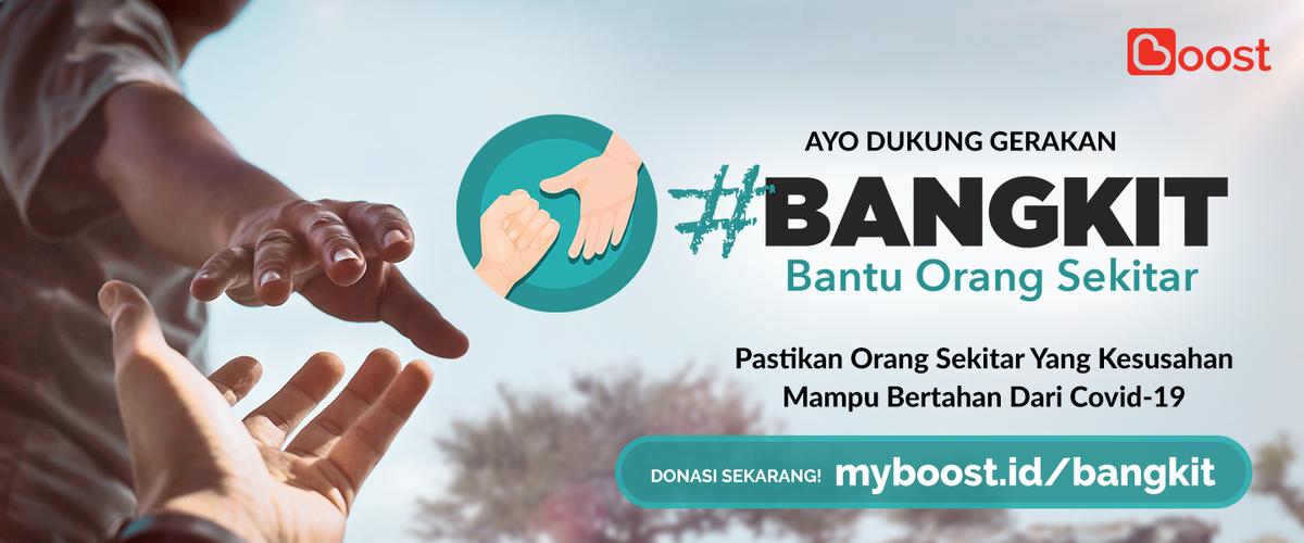#BANGKIT-PROGRAM DONASI UNTUK BANTU ORANG SEKITAR