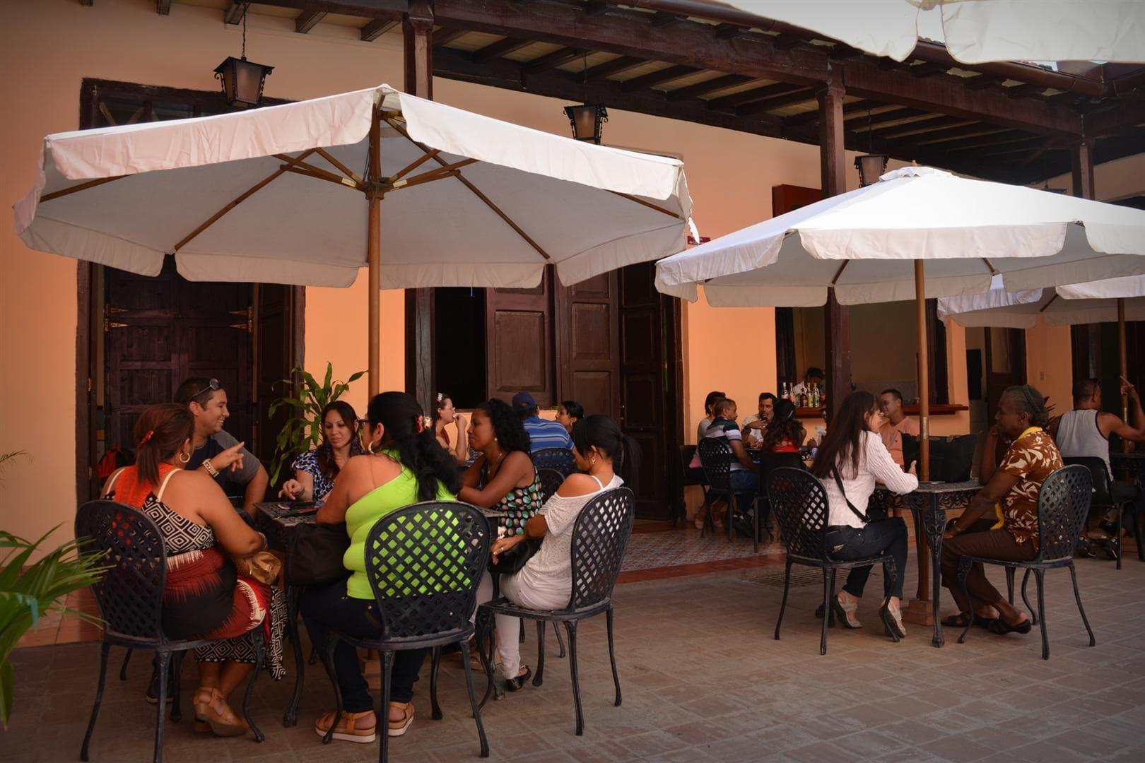 Cafeteria in Cuba