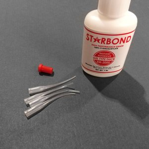 Adhesive for lampwork beads