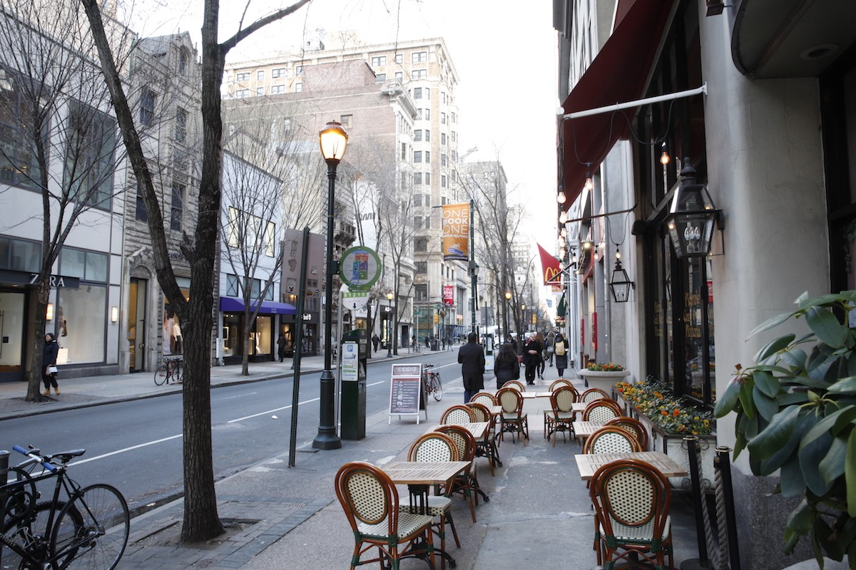 Looking to call Philadelphia home, but miss New York City? Don't worry, these neighborhoods and eateries will make you feel right at home.